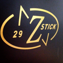 Vinyl cut decal for Z Stick manufactured by Websticker